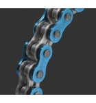 530 MVXZ-114/B  EK CUT CHAIN W/MLJ  BLUE